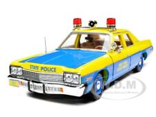 1974 DODGE MONACO POLICE NEW YORK STATE POLICE 1/18 MODEL CAR  AUTOWORLD AMM949