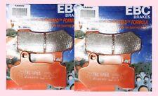 2x Ebc fa409v Semi Sinterizadas Delanteras Pastillas De Freno Harley Davidson Vrod V Rod 06-12