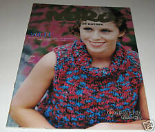 NORO WORLD of NATURE knitting yarn pattern book #14 With 10 Designs for Women