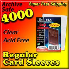 "4000 ULTRA PRO PENNY CARD SLEEVES 2-5/8"" X 3-5/8"" ACID FREE 40 PACKS    81125-40"