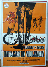 SOME PEOPLE Rare Rock 'n' Roll movie poster Spanish 1965 Teddy boys BRISTOL