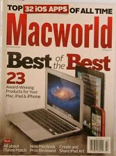 MacWORLD Magazine TOP 32 TOP ios APPS 23 Award Winning Products BEST of the BEST