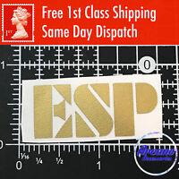 ESP Guitar Headstock Logo Decal Vinyl Sticker Acoustic Restoration Tools Classic