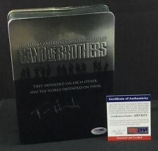 TOM HANKS SIGNED BAND OF BROTHERS DVD BOX SET HBO PSA DNA AB73271 RARE