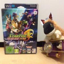 Star Fox Starfox cero primera impresión Day One Edition STEELBOOK Guardia Nintendo Wii U