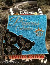 Disney Pin DSSH DSF Brave Merida Bear Cubs Princess Calendar 2014 June Pin
