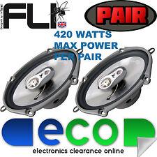 "FORD FIESTA MK5 02-08 FLI 6 ""x8"" 420 Watt 3 Way Ricambio Altoparlanti Porta"