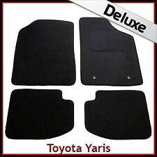 Toyota Yaris 5 puertas Mk1/XP10 1999-2005 a medida Lux 1300g coche tapetes negro
