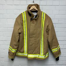 More details for cosalt ballyclare ex firefighter safety tunic jacket size: 12 ,british military
