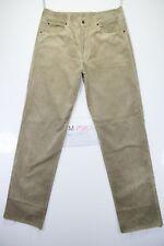 Wrangler En velours Code M1587 tg50 W36 L36 jeans d'occassion Taille Haute