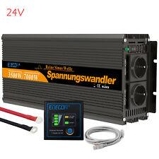 Convertisseur 3500w 7000w DC 24v AC 220v onde Sinusoïdale Pure Inverter Camion
