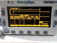 Patient Monitor Welch Allyn Propaq Encore SpO2 ECG NIBP PSU GP surgery theatre