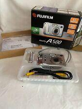 NEW in BOX: Fujifilm Finepix A500 5MP Digital Camera with 3x Optical Zoom