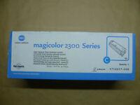 Original Konica Minolta High Capacity Toner cyan magicolor 2300 ------- OVP