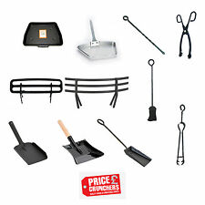 Fireside Fireplace Coal Ash Fire Tools Shovel Poker Tongs Pan Saver Inglenook