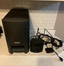 Bose Cinemate GS Series II Home Theater System. Speakers. Sub. Cables