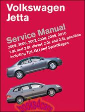 Jetta Negozio Manuale Servizio Riparazione Libro Volkswagen Bentley Robert 2005