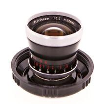 Ex+ Carl Zeiss Pro-Tessar 1:3.2 f=35mm Lens Made in Germany In Original Ikon Jar