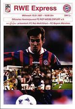 15.01.1997 FC Rot-Weiss Erfurt - FC Bayern München
