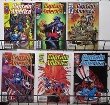 Captain America (Marvel V2 2000) #30-35 Dan Jurgens Andy Kubert SHIELD Fights