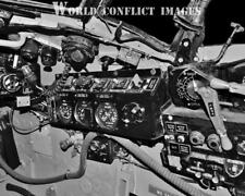 RAF WW2 DeHavilland Mosquito Bomber Cockpit Right Panel #3 8x10 Photo WWII