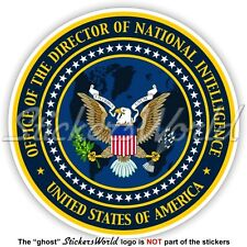US DIRECTOR of the NATIONAL INTELLIGENCE Seal DNI United States USA Sticker