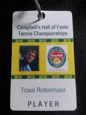 2010 Campbells Hall of Fame Tennis Championships Travis Rettenmaier Player Pass