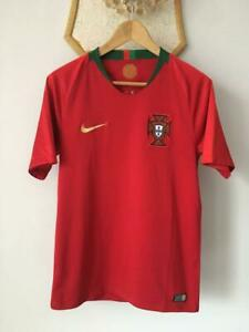 PORTUGAL 2018 2020 WORLD CUP HOME FOOTBALL SOCCER SHIRT JERSEY NIKE CAMISETA (S)