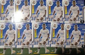 💥 10x 2021 CAMAVINGA #494 rookie card Real Madrid Panini Megacracks 💥