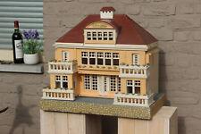 HUGE German Wood GOTTSCHALK Red roof dollhouse French mansion 1920