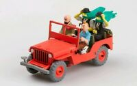 Tintin  Jeep Willys MB 1943 from Land of black gold,Scale 1:43 by Atlas Edition