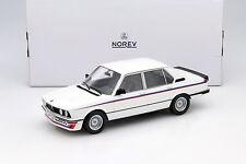 BMW M535i E12 année 1980 blanc 1:18 Norev