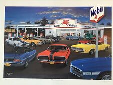 """David Snyder  """"Cats Snakes and Horses"""" Ford Mustang Cougar Shelby Cobra Jet Dave"""