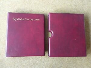 Royal Mail FDC album with slipcase in good condition - rf876