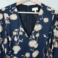 [ WITCHERY ] Womens Floral Print Swing Dress   Size AU 10 or US 6