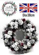 38cm Christmas Wreaths with 20 led lights