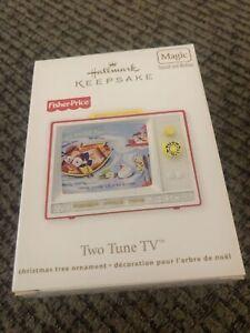 Keepsake Magic Fisher Price Two Tune TV 2012 NIB