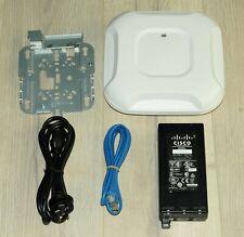 Cisco AIR-CAP3702I-Z-K9 Wireless AP 802.11ac 4x4 MIMO w/ Bracket Power Supply