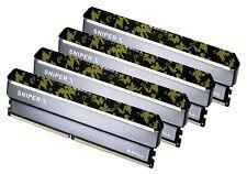 64GB G.Skill DDR4 3600MHz Sniper X PC4-28800 CL19 Quad Kit 4x 16GB Digital Camo
