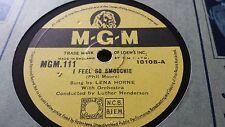 LENA HORNE I FEEL SO SMOOCHIE & 'DEED I DO MGM111