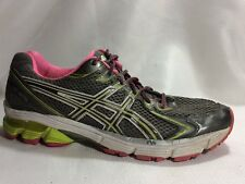ASICS Gel GT 2170 T256N Women 11 M Pink Gray Green Athletic Running Sneaker Shoe