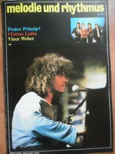 MELODIE UND RHYTHMUS 9 - 1983 (1) Vince Weber PRINZIP Tomas Ledin Fleetwood Mac
