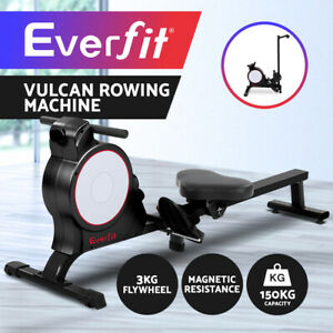 Everfit Magnetic Rowing Machine Rower Resistance Cardio Exercise Fitness Gym