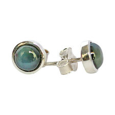 Natural Labradorite Gemstone Earring 925 Solid Sterling Silver Jewelry 1.7gm 249