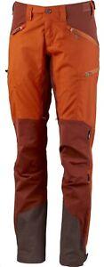 Lundhags Makke Pant Women Elastic Ladies Hiking Trousers Amber - Rust