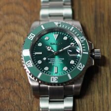 Sub Style Diver Homage/Mod Automatic Watch - Authentic Seiko NH35 Movement +5