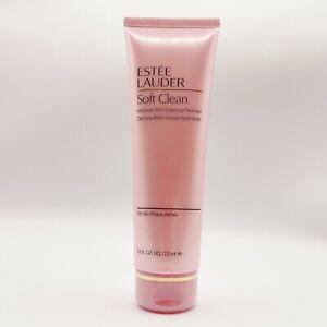 Estee Lauder Soft Clean Moisture Rich Foaming Cleanser 4.2 oz / 125 ml SEALED