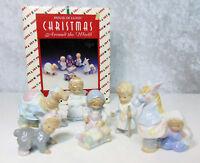 House Of Lloyd Porcelain SCHOOL PAGEANT NATIVITY Set Christmas Around The World