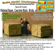 Palleted Cement Blocks (2pcs) Scale Model Masterpieces HO Fine Craftsman Detailz