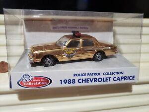 White Rose GOLD CHEVY CAPRICE State Police Cars NY AR MD LA FL ME MI SC OH IN